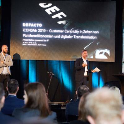 iCONSMr 2019 Marcus Wailersbacher und Martin Grass DEFACTO