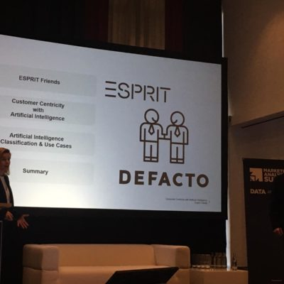 Esprit und DEFACTO auf dem Marketing Analytics Summit