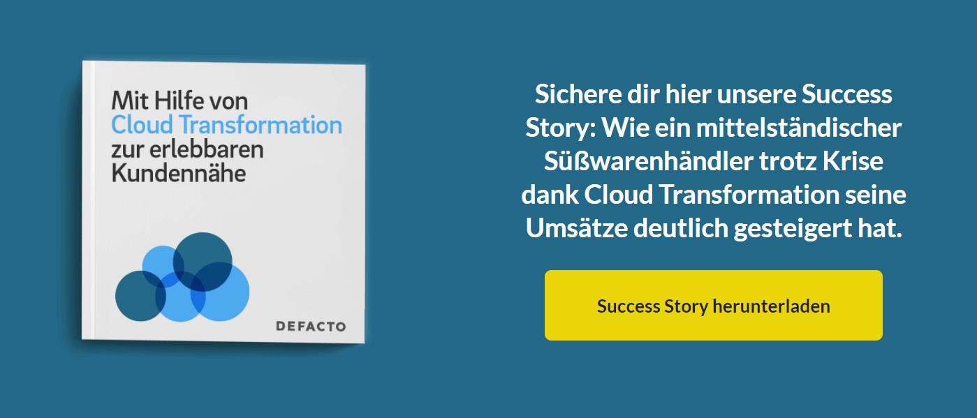 Success Story Cloud Transformation